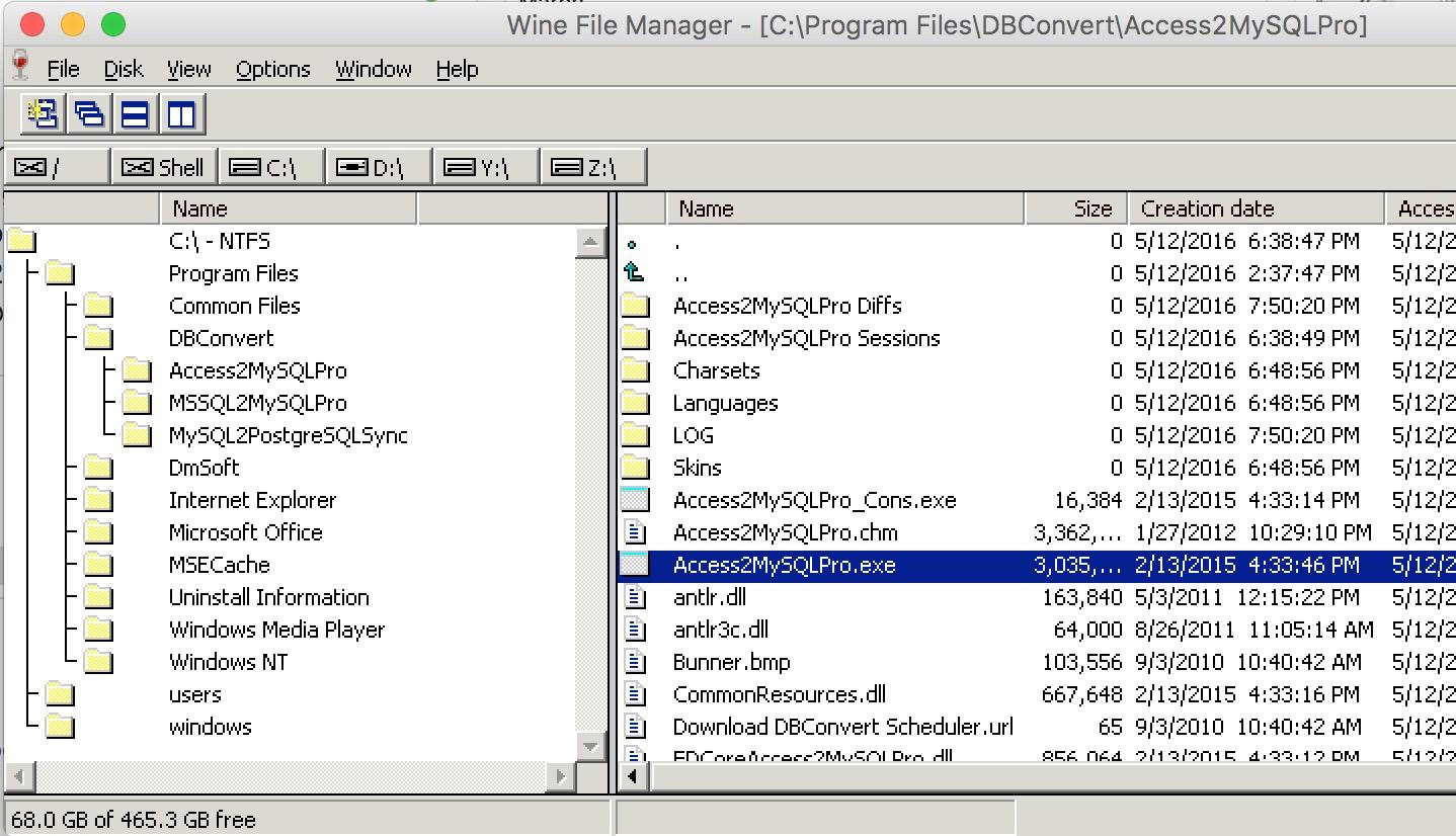 How to run DBConvert/ DBSync on a Mac OS X? – DBConvert
